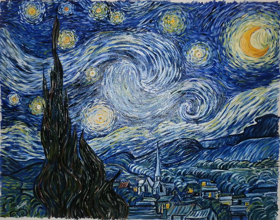 riproduzione d'autore van Gogh Elena Zene